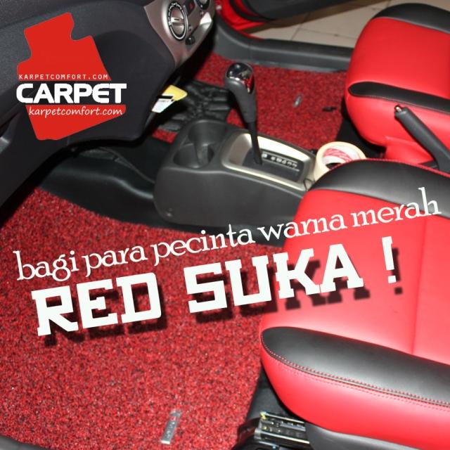 warna merah juga ada