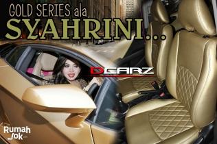 Desain Jok Mobil Artis Syahrini